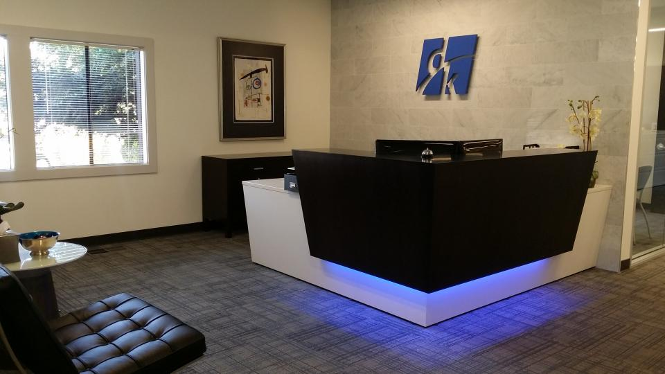 dk Consulting Reception Area