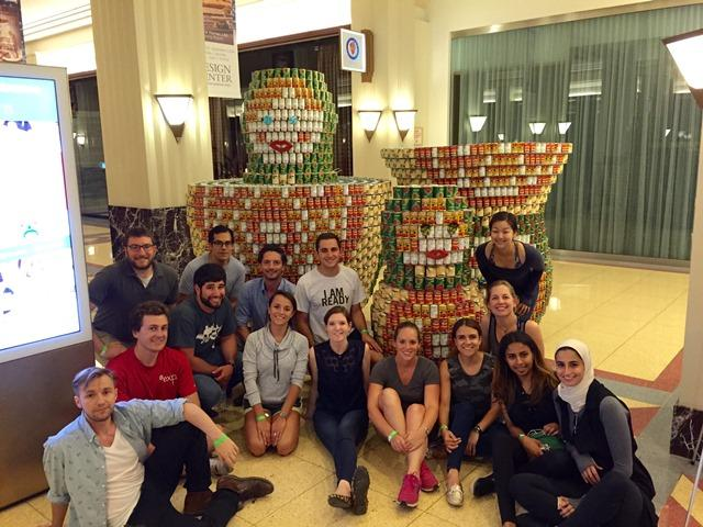 2016 CANstruction_Team Photo