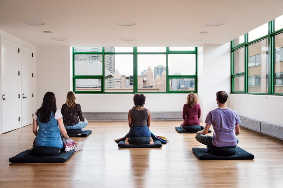 Employees can participate in regular wellness programing, including pilates, yoga, and meditation classes, or grab some quiet rest time in our headquarters