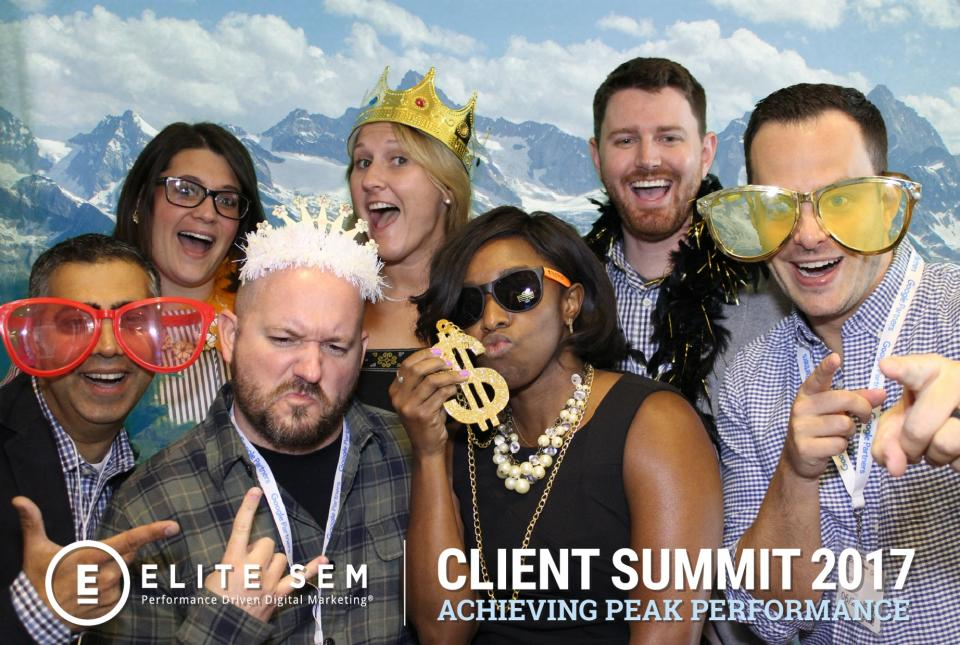 The heads of most of our divisions during Elite's Annual Client Summit in Google's NYC building