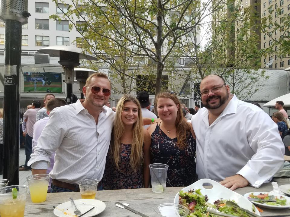 Digital Remedy team members enjoying summer in the city.