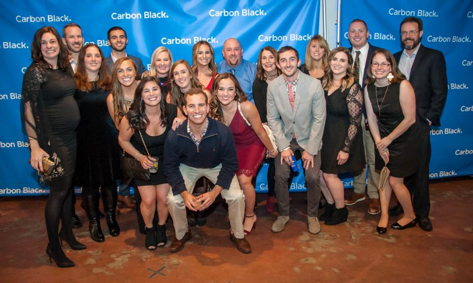 Our Customer Success team at the 2017 holiday party
