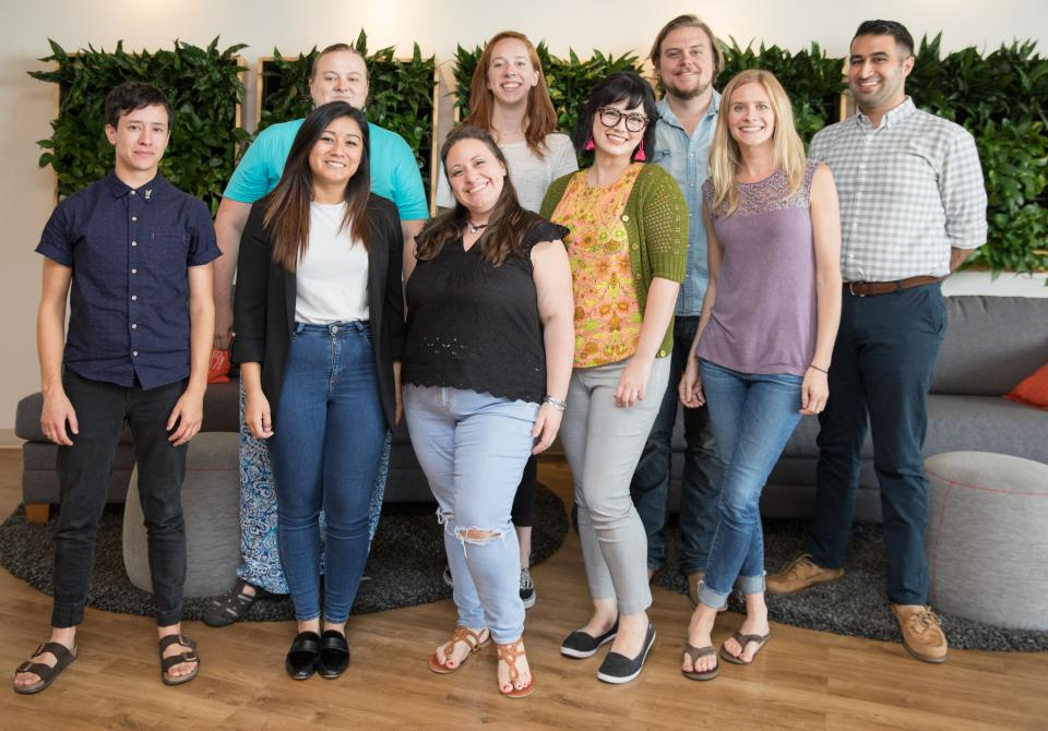 2018 Inktern graduates. Every summer and winter, the Inkternship program pairs motivated and engaged Inkers with high-impact work driving growth across the organization.