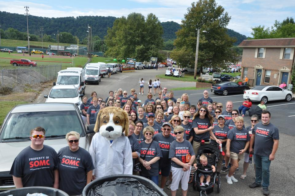 SOMC Employees Walk in Annual River Days Parade - September 2018