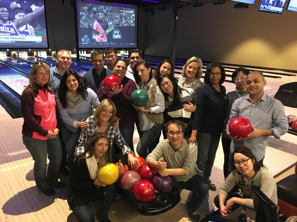 Monthly Company Social Activity - Bowling