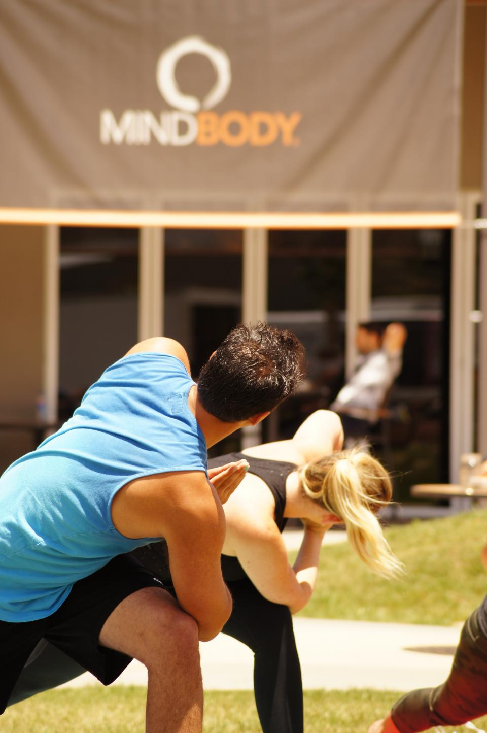 MINDBODY On-Site Wellness Class
