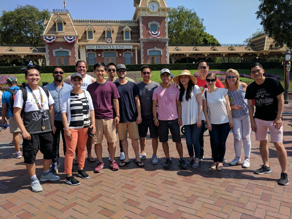 Team Disney Trip
