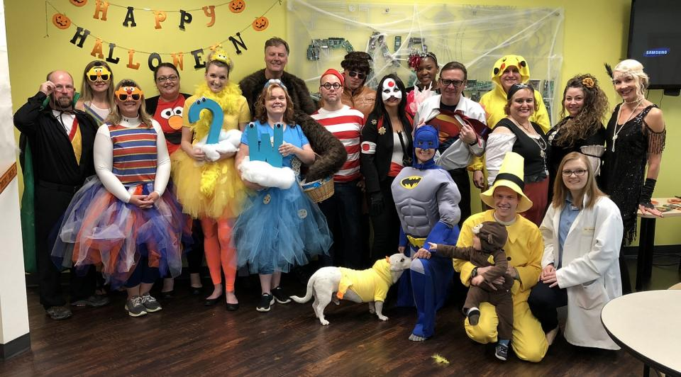 Halloween in the office