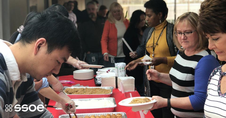 Gongxi Facái! Our Toledo Employee Club wished employees happiness / prosperity with a Chinese New Year celebration. More than 150 people joined in and also collected $700 for the Sean Smith Memorial Fund, which benefits the family of our dear colleague who we lost.