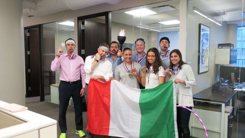 New York team competes in
