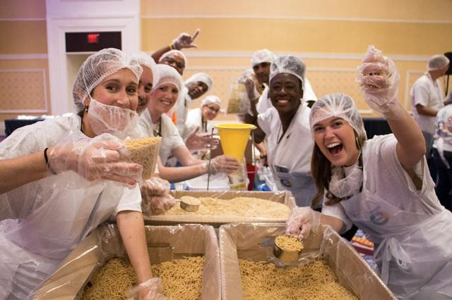 Volunteerism is big at Synchrony. It's also a lot of fun. Plus, Synchrony's three-day Diversity Symposium exemplifies our passion for diversity and inclusion and good citizenship – a goal we work on and work forward to.