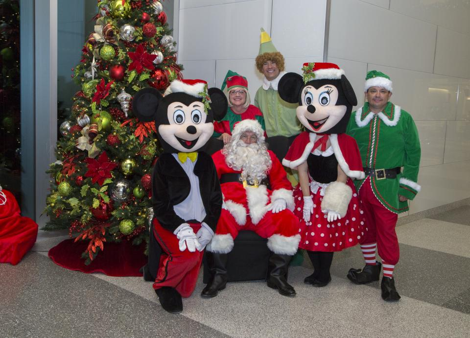 Concho COO and his team of elves are ready for the annual Cookies with Santa holiday event