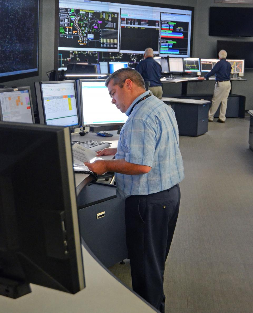 Our system operators work around the clock to help keep the lights on.