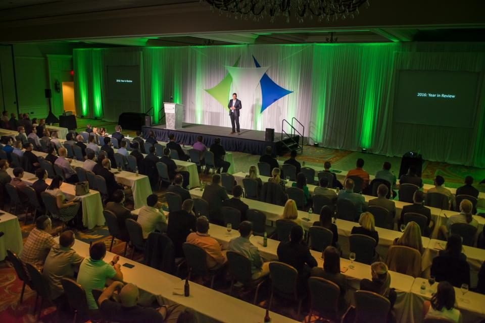 ReliaQuest's annual all-company forum, RQP3, aligns all employees around the same focused direction for the company each year.