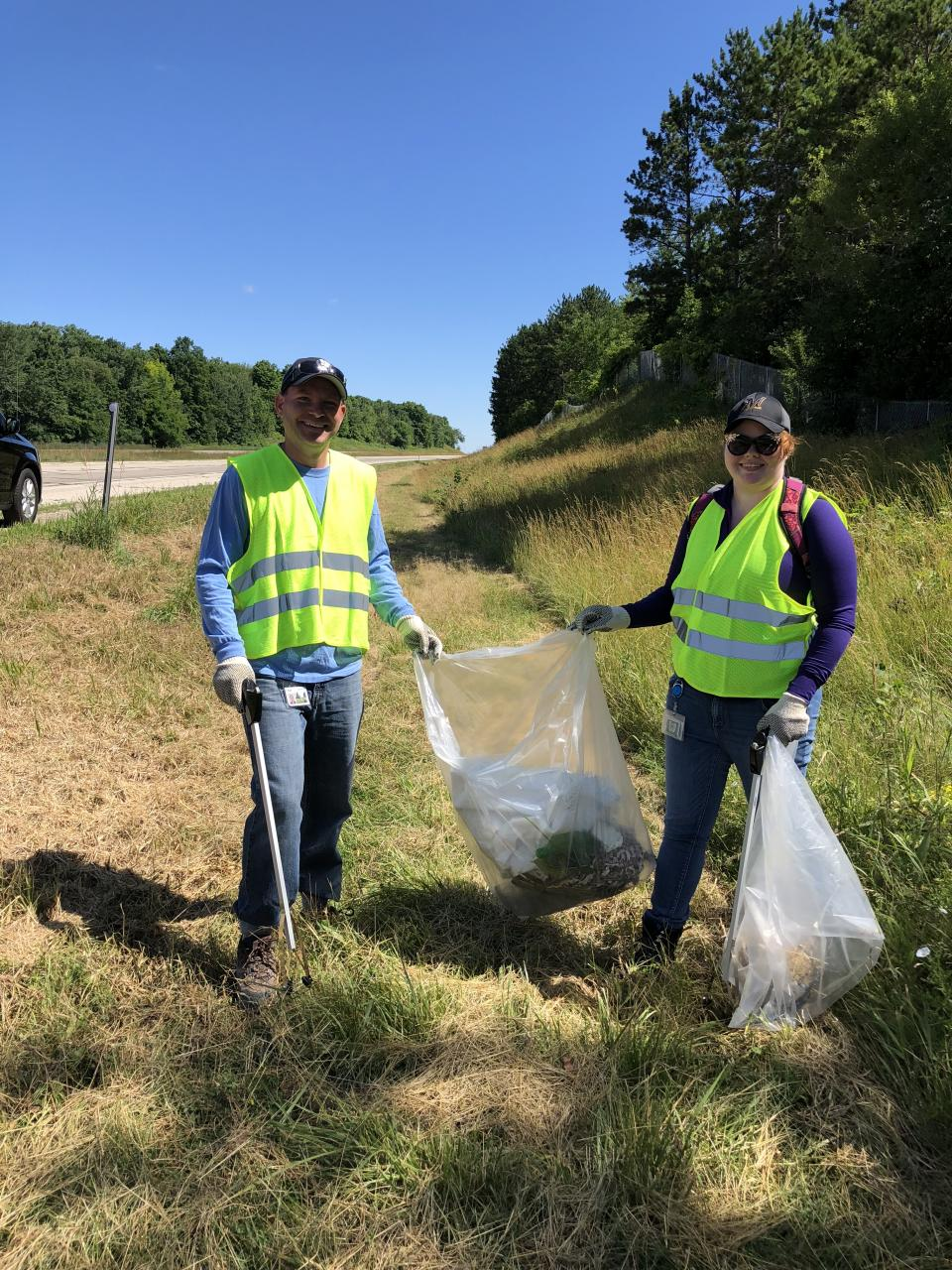 Associates cleaning up West Bend's section of Adopt a Highway