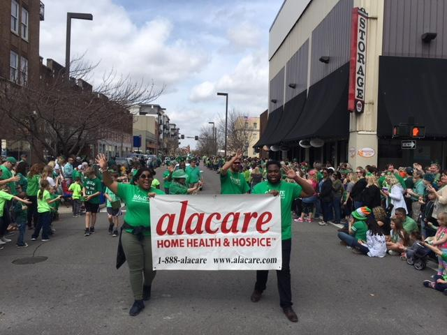 ALacare St. Pats Day Walk Team