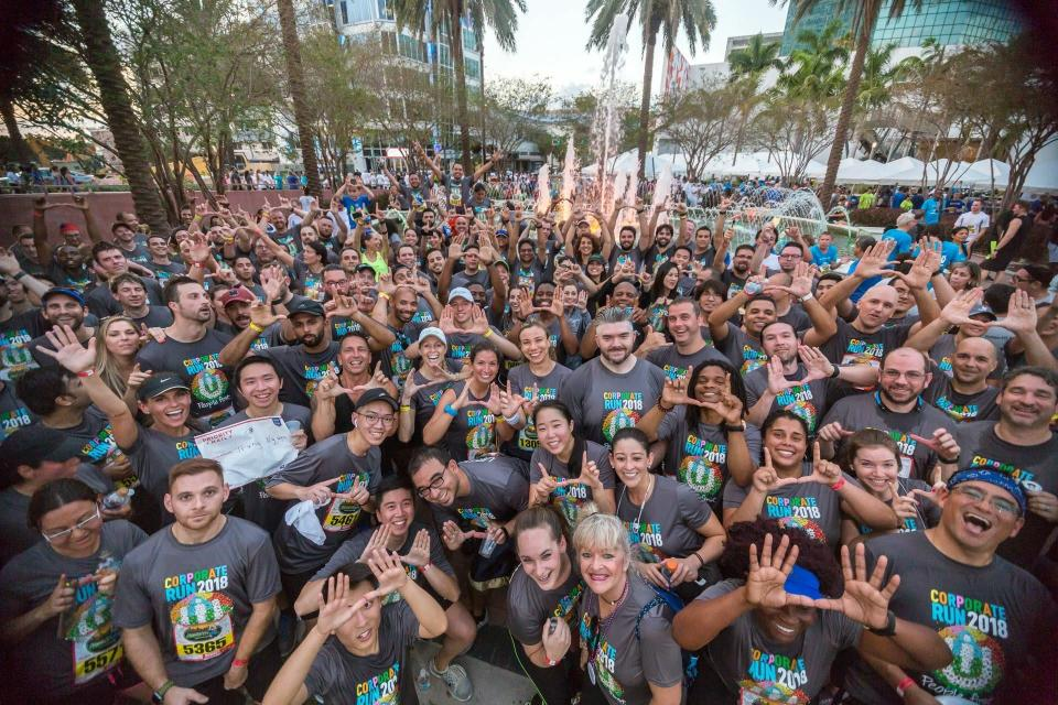 Ultimate has largest team at Ft. Lauderdale Corporate Run