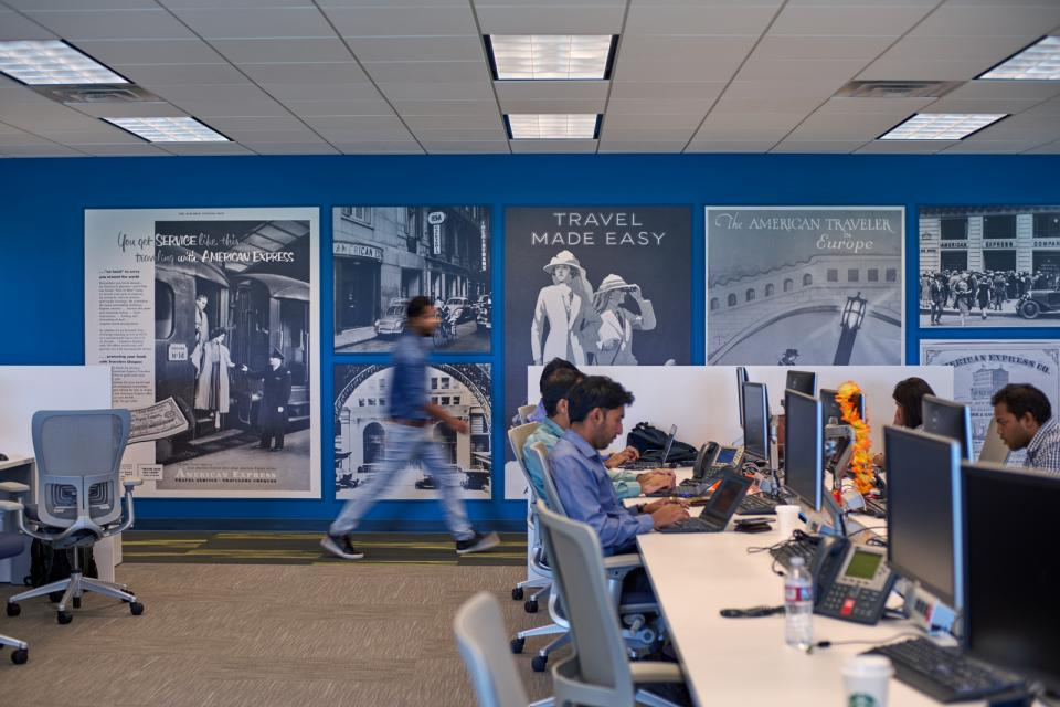 American Express offices. Photo credit RBPI.TV