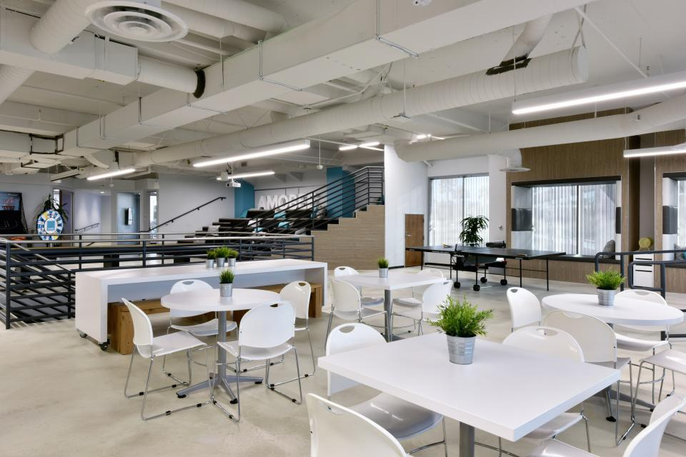 Amobee's Innovative Office Spaces