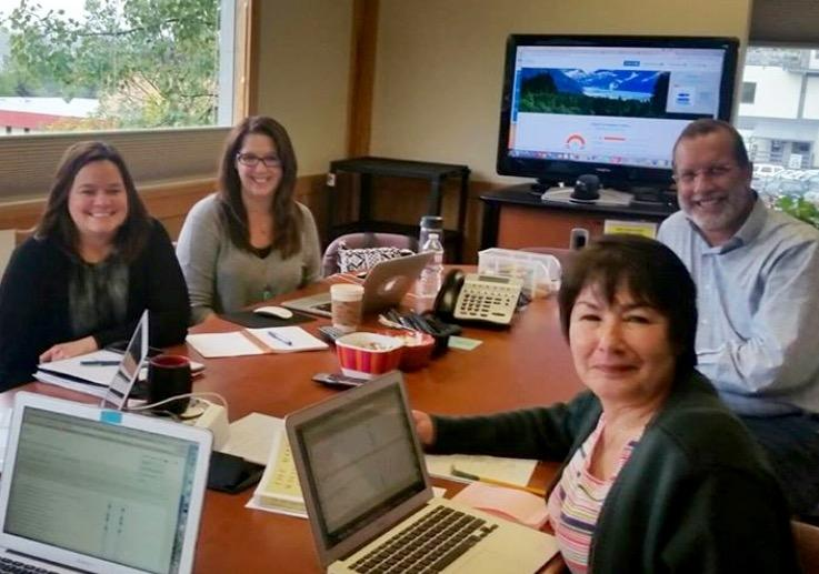 Customer Strategy Meeting in Alaska