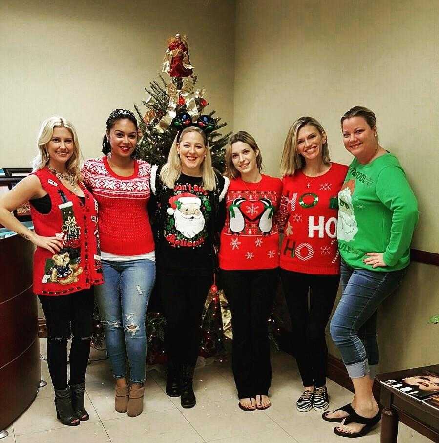 Ardor Holiday Sweater Day