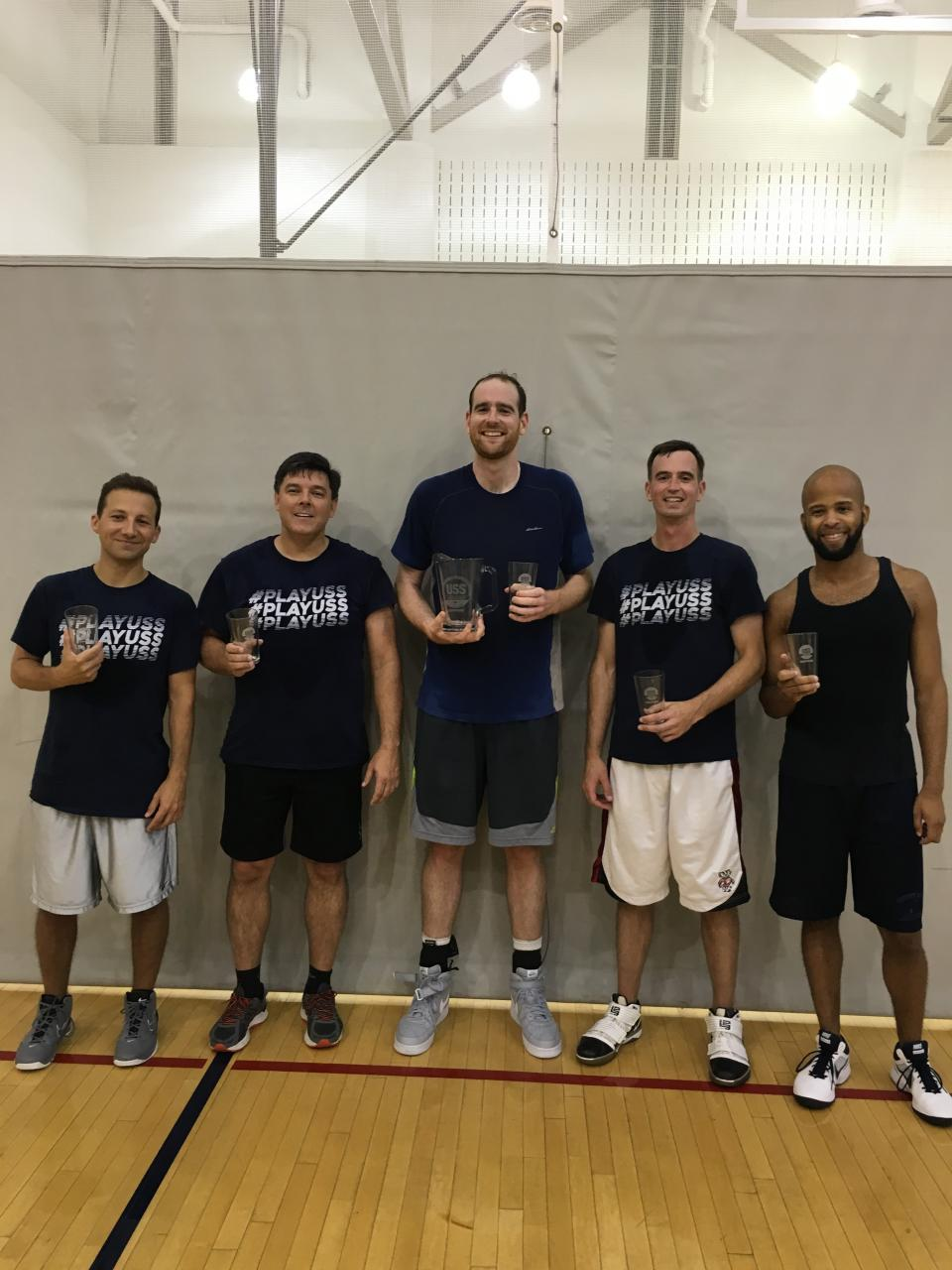 The Firm's DC basketball team took home the gold in this year's competition in a local summer basketball league. The Firm sponsors athletic teams in order to foster camaraderie among employees.