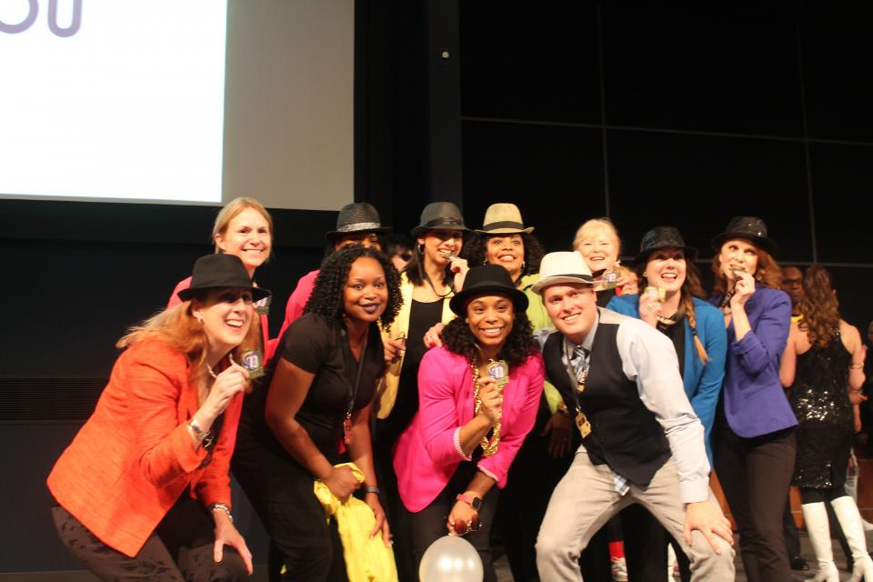 The Edward Jones associates' team won the firm's first-ever Lip Sync Battle, with funds raised to support the Arts and Education Council of Greater St. Louis.