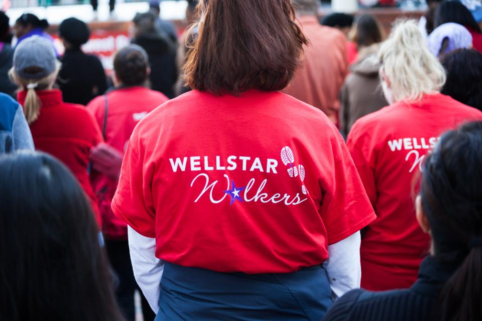 WellStar is a sponsor of the American Heart Association's 2017 Healthy for Good Heart Walk.
