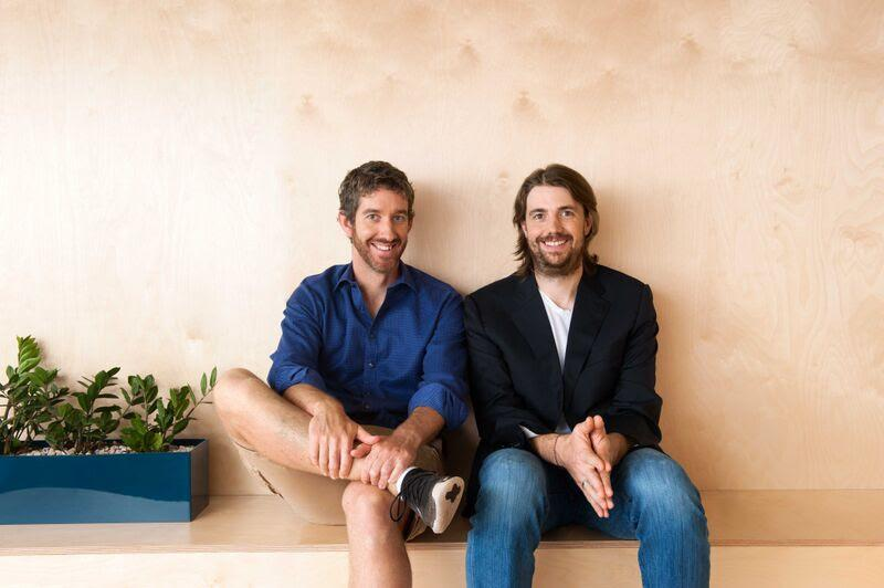 Co-Founders/Co-CEOs Scott Farquhar and Mike Cannon-Brookes