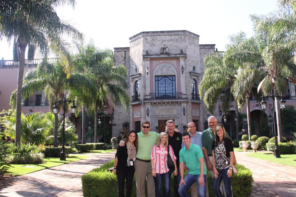 Visiting the Hacienda