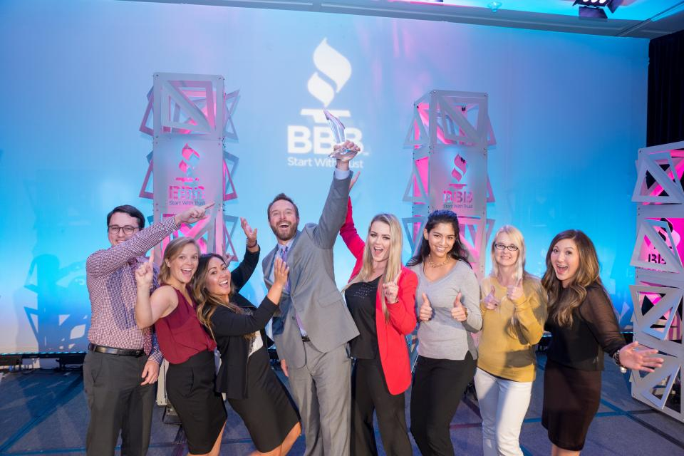 Winning the BBB Torch Award