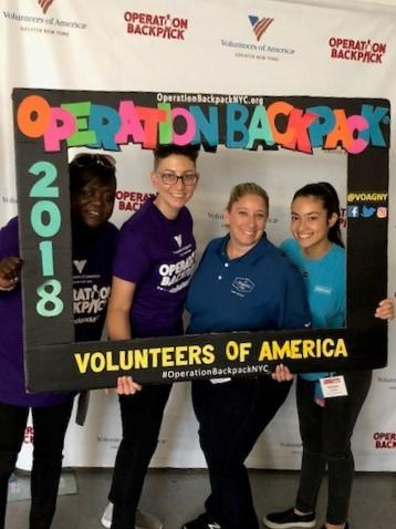 Operation Backpack NYC - Hampton Inn