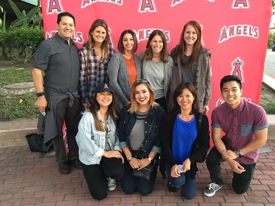 Staff at an Angel's Game