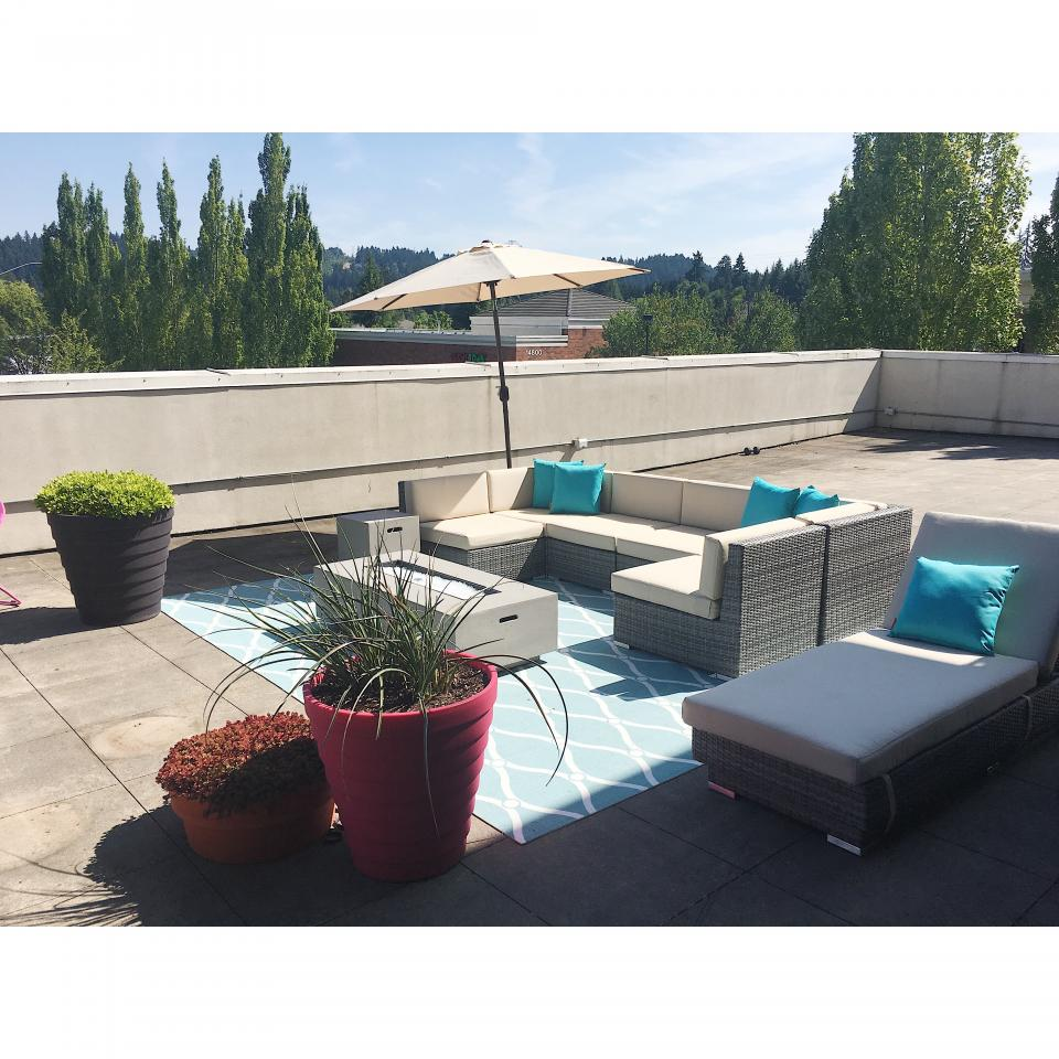 Outdoor Space at Ruby-Beaverton