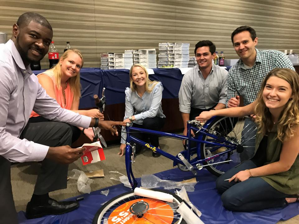 Building Bikes for Local Families