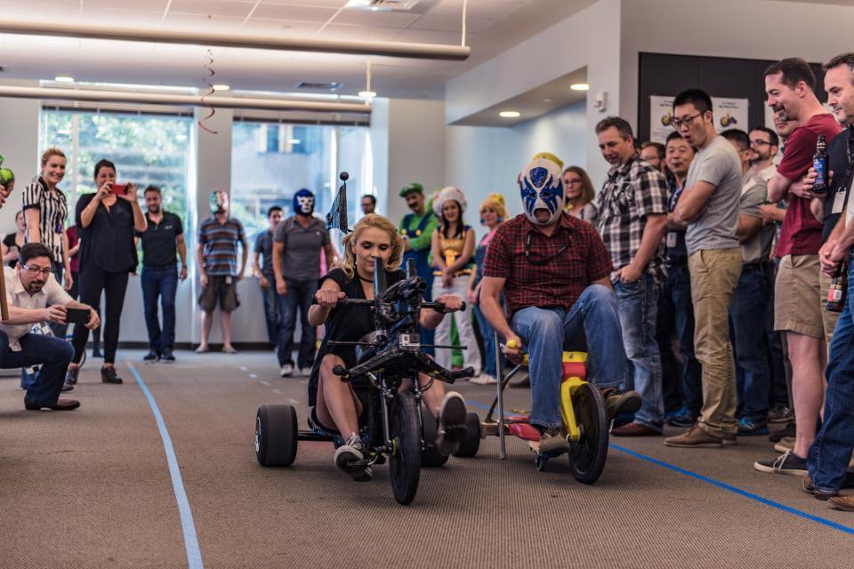Silicon Labs Big Wheels Race