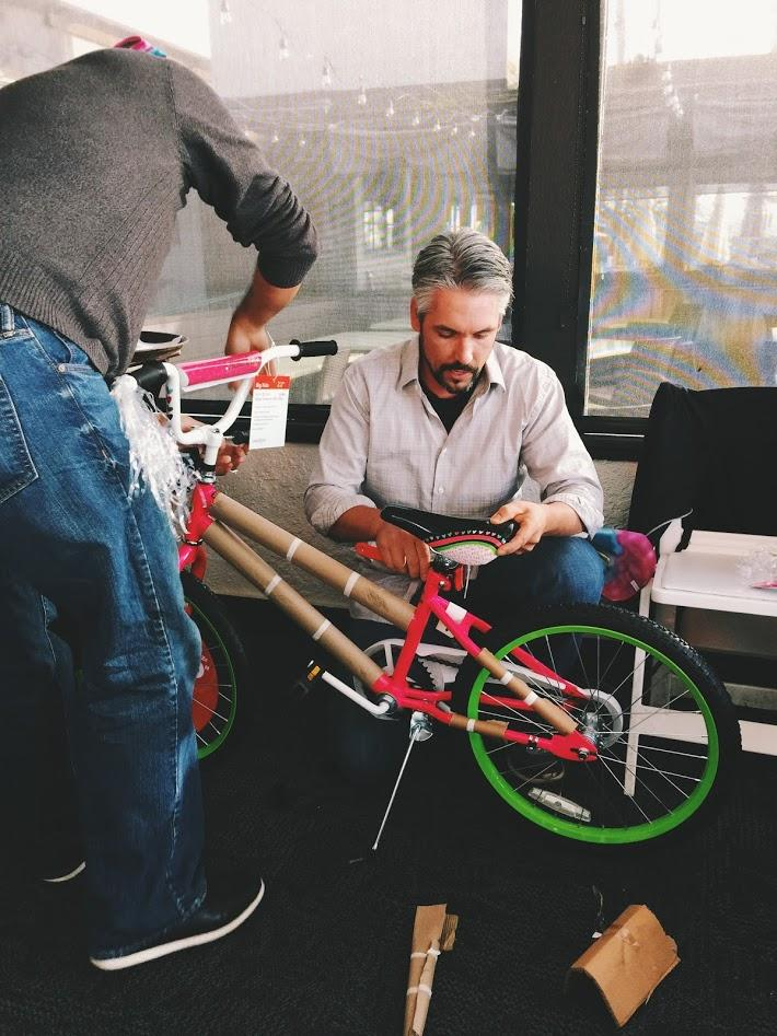 We partnered with the Boys and Girls Club of Mar Vista to assemble some bicycles for their deserving kids