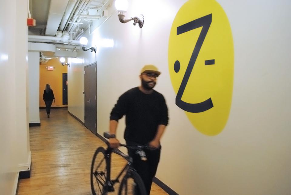 Many Zocdoc team members opt for a healthy commute.