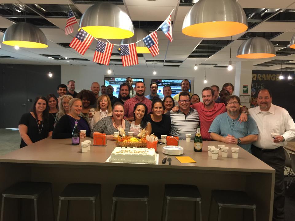 Celebration in the Atlanta Office