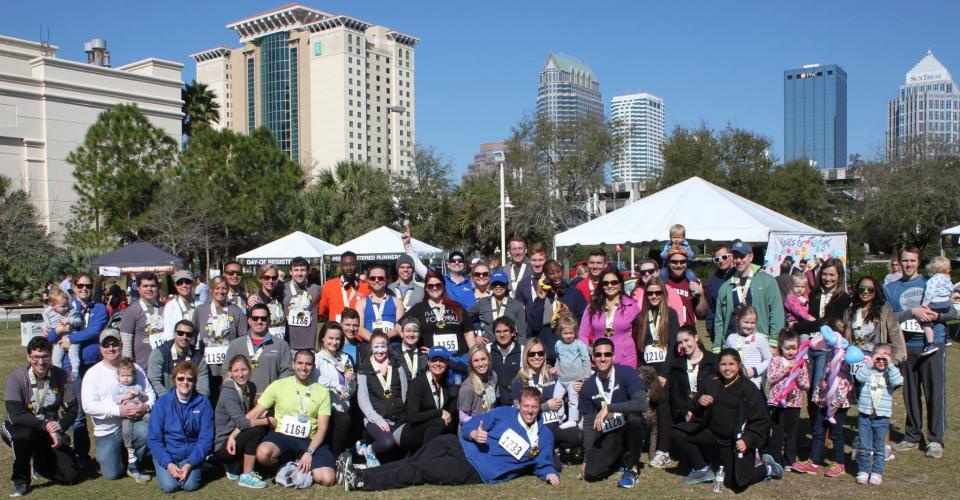 Avesta teammates participating in the Voices Against Brain Cancer 5K Run/Walk