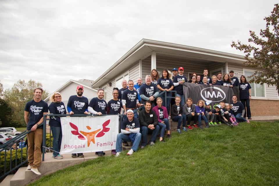Once a year, IMA associates across the country team up for I Make a Difference Day.