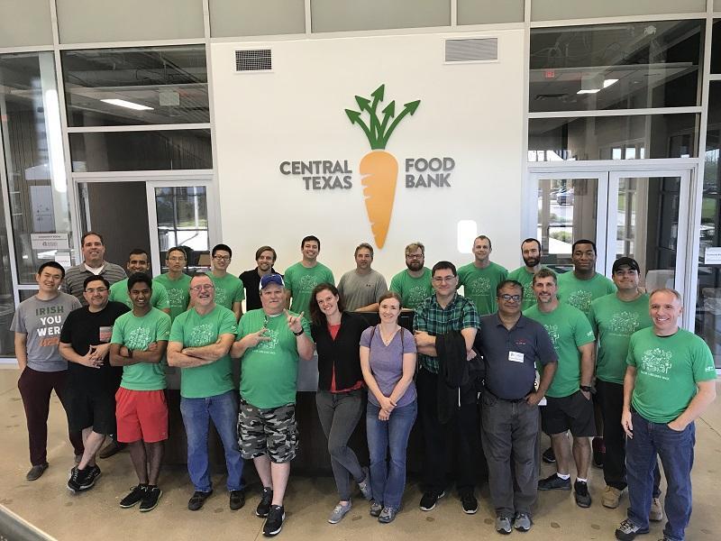 Central Texas Food Bank Volunteer Shift