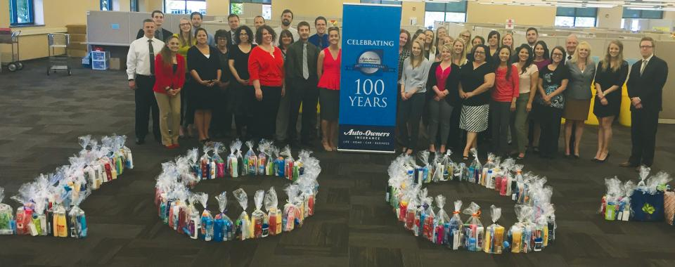 100th Anniversary - Associate Charitable Contributions