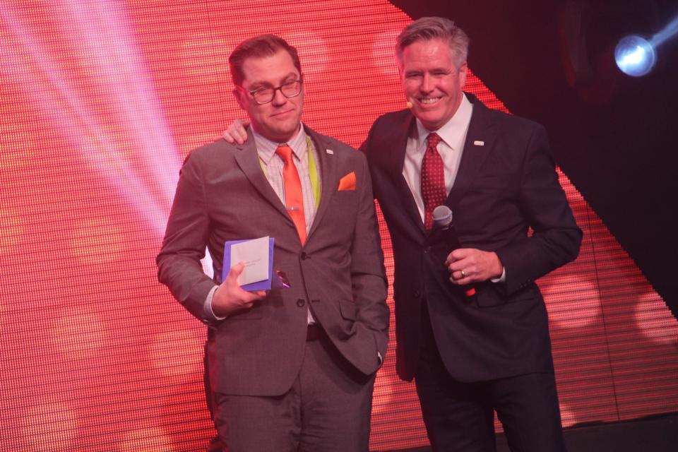 Seattle's Bryan Richards brings home the prestigious Jone Panavas Award