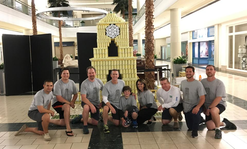 Giving Back to the Community - CANstruction
