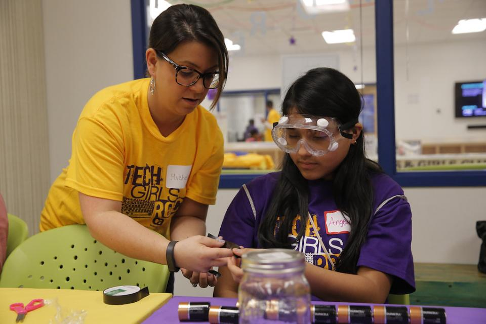 CA volunteer supports STEM initiatives through Tech Girls Rock