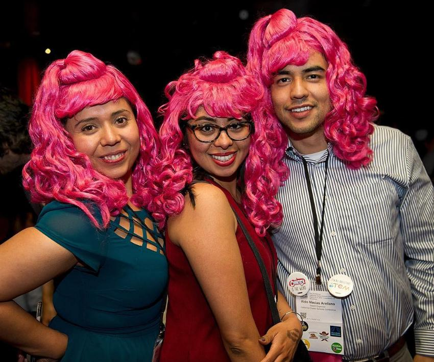 CCSA's Annual Conference, an event for more than 4,000 charter school community members, is famous for its Wednesday night theme party. This year, the theme was