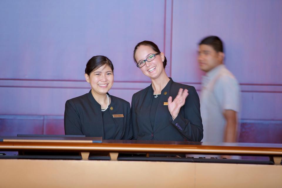 We are Hilton. We are Hospitality.