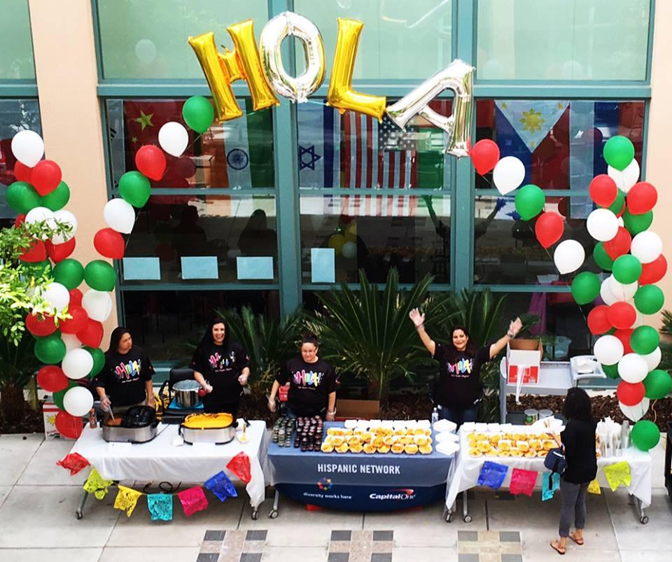 Cinco de Mayo at Capital One means ¡HOLA!, our Hispanic Business Resource Group, hosted fiestas for our associates across the country