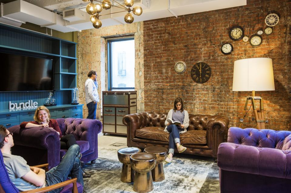 Our workspaces are designed to reflect our culture: innovative, inclusive, and flexible.